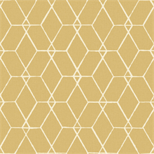 Osterlen Yellow Trellis Wallpaper