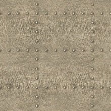 Otto Bronze Hammered Metal Wallpaper