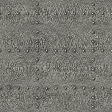 Otto Pewter Hammered Metal Wallpaper