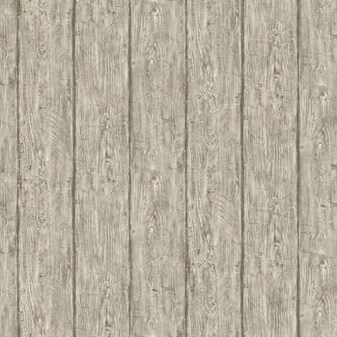 Pur49415 outerbanks grey faux wood wallpaper wallpaper - Faux wood plank wallpaper ...