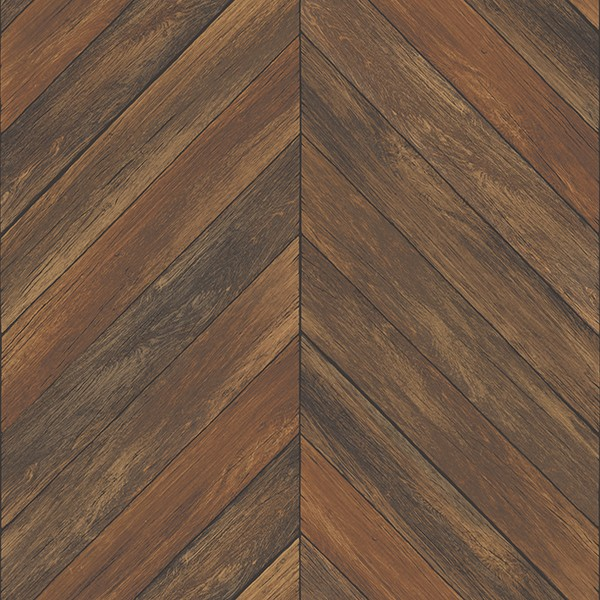 2540 24007 Parisian Chestnut Parquet Wallpaper