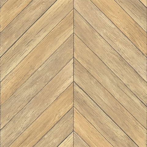 Parisian Wheat Parquet Wallpaper