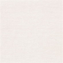 Parker Cream Faux Linen Vinyl Wallpaper
