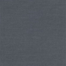 Parker Denim Faux Linen Vinyl Wallpaper
