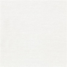 Parker Off-White Faux Linen Vinyl Wallpaper