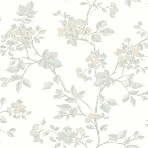 Parry Light Grey Floral