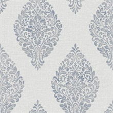 Pascale Light Grey Medallion
