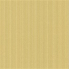 Pasqual Mustard Stripes Wallpaper