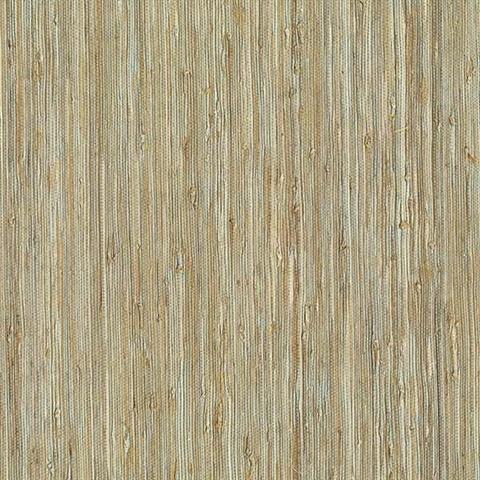 Patryk Aqua Grasscloth 2622 65437