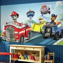 Paw Patrol Friends XL Wall Mural 10.5' X 6'