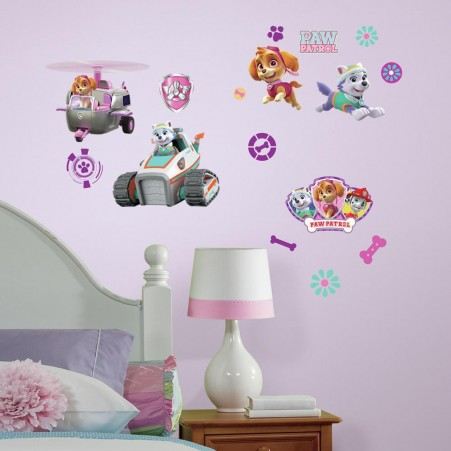Paw Patrol Pups L And Stick Wall Decals