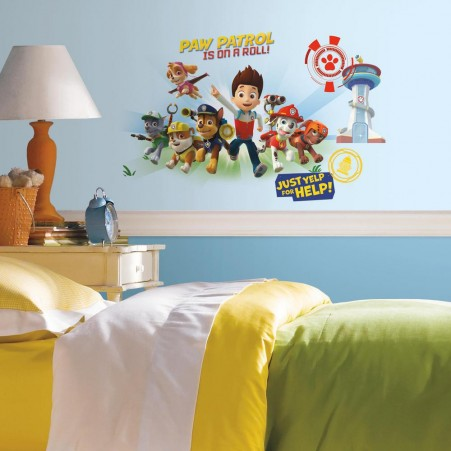 Paw Patrol Peel and Stick Wall Graphics