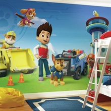 Paw Patrol XL Wallpaper Mural 10.5' x 6'