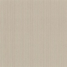 Paxton Taupe Cord String Vinyl Wallpaper