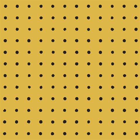 Peggy - Mustard colourway wallpaper