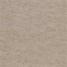 Pembroke Brown Faux Plaster Vinyl Wallpaper