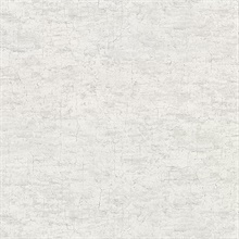 Pembroke Light Grey Faux Plaster Vinyl Wallpaper