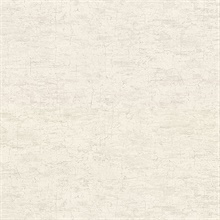 Pembroke Off-White Faux Plaster Vinyl Wallpaper