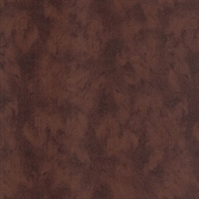 Pennine Burgundy Pony Leather Hide Textured Wallpaper