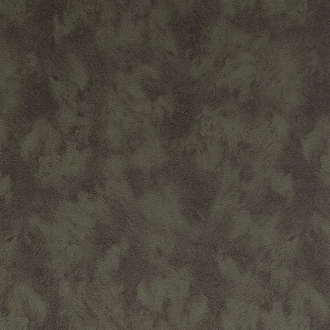 Pennine Green Pony Leather Hide Textured Wallpaper