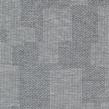 Perdito Charcoal Checked Plaid Linen Commercial Wallpaper