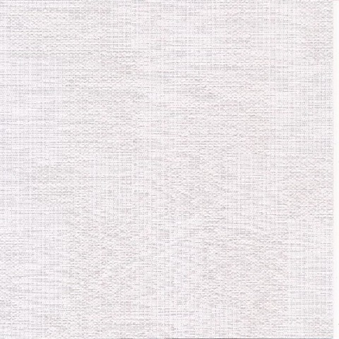 Perdito White Checked Plaid Linen Commercial Wallpaper