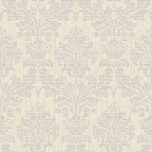 Piers Metallic Texture Damask