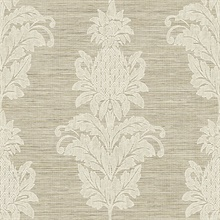 Pineapple Grove Brown Damask