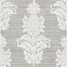 Pineapple Grove Gold Damask