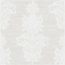 Pineapple Grove Grey Damask
