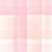 Pink and White Conte Plaid