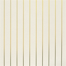 Pinstripe cream/gold
