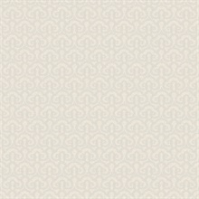 Pisces Grey Faux Fishscale Texture Wallpaper