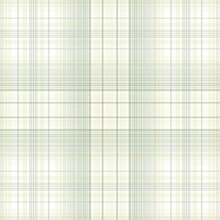 Plaid Green & White Wallpaper