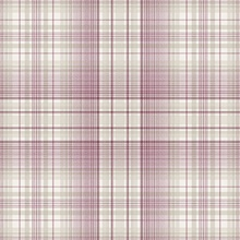 Plaid Plum, Cream & Taupe Wallpaper