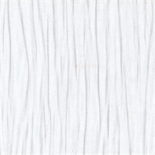 Pleats Winter White Commercial Wallpaper