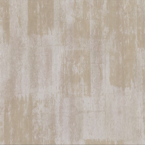Pollit Champagne Distressed Texture Wallpaper