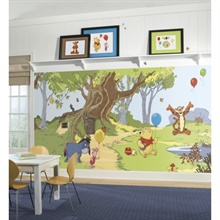 Pooh & Friends XL Wallpaper Mural