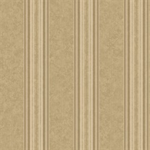 Poppy Sand Baroque Stripe Wallpaper