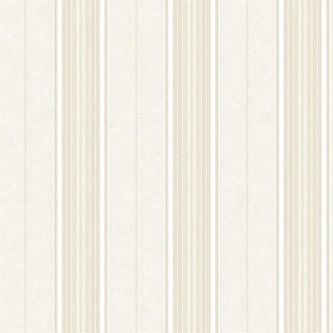 Poppy Storm Baroque Stripe Wallpaper