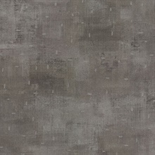 Portia Pewter Distressed Texture Wallpaper