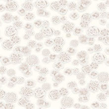 Posy Wallpaper - Pink