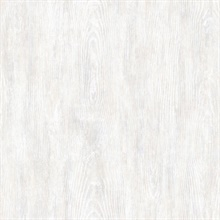 Priscilla Grey Faux Wood Wallpaper