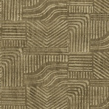Pueblo Light Brown Global Geometric Wallpaper