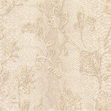Puglia Cream Python Scroll Wallpaper
