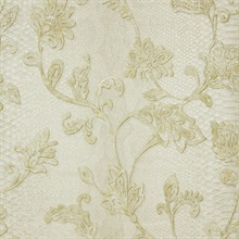 Puglia Ivory Python Scroll Wallpaper