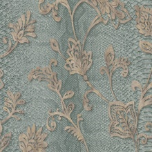 Puglia Teal Python Scroll Wallpaper