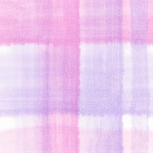 Purple Conte Plaid