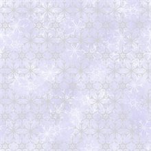 Purple Disney Frozen 2 Snowflake Wallpaper