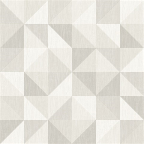 2697 22625 Puzzle Light Grey Geometric Wallpaper